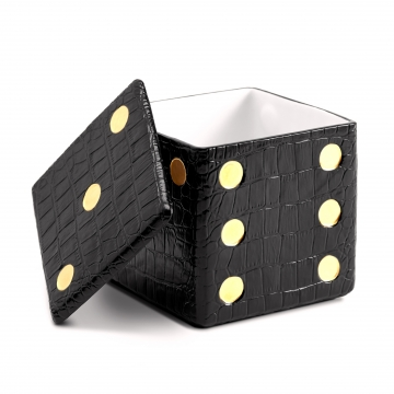 Dice Decorative Box_Black